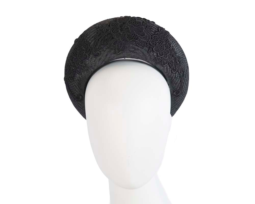 Exclusive black headband by Cupids Millinery