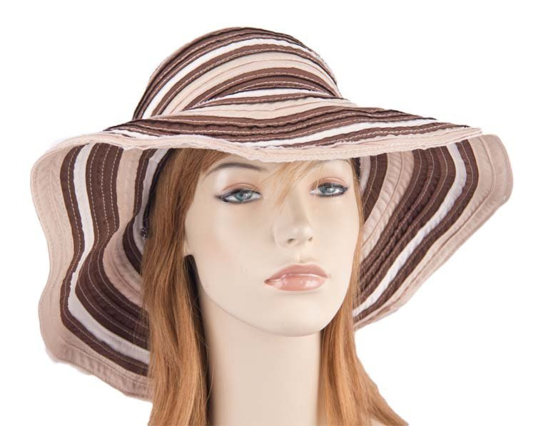 Chocolate summer beach hat SP377