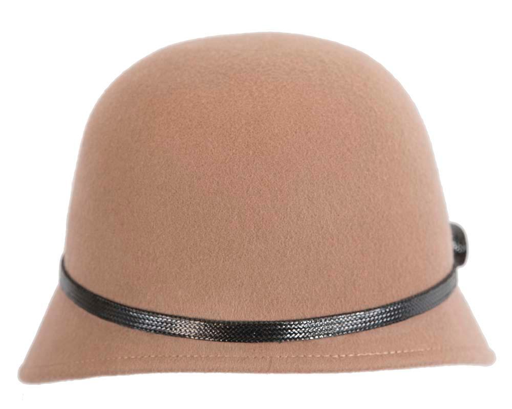 Beige felt bucket hat by Max Alexander