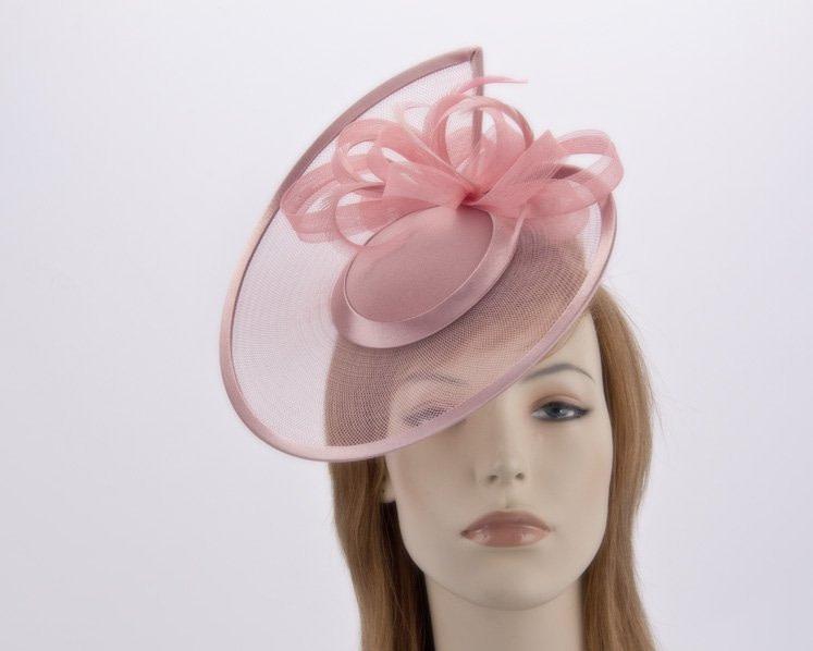 Custom made pillbox hat with flowers