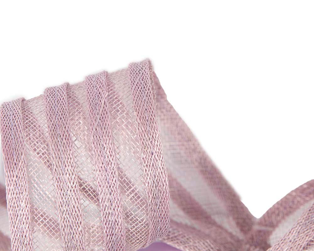 Stylish lilac racing fascinator by Max Alexander