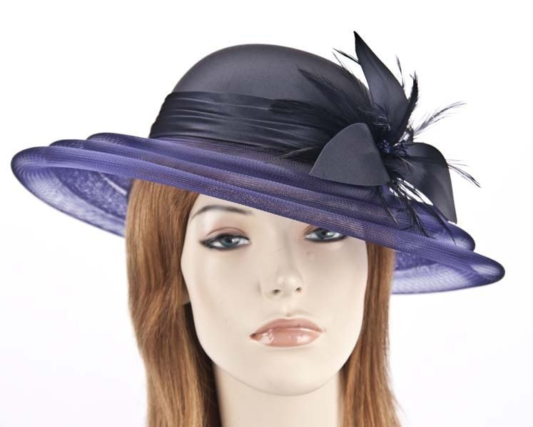 Custom made mother of the bride hat online H5002