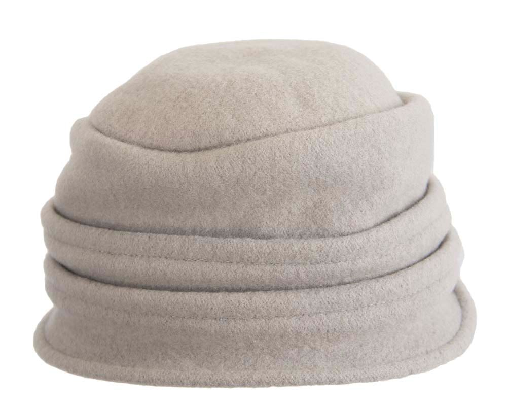 Warm grey winter bucket hat by Max Alexander