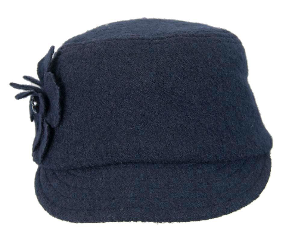 Navy winter casual cap