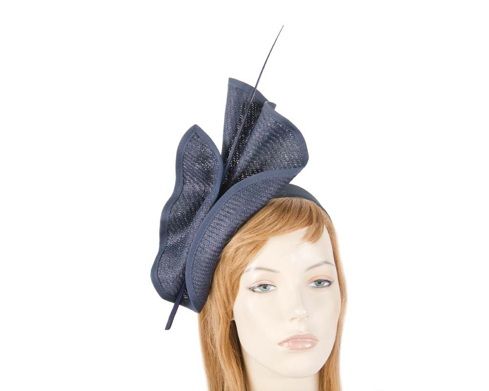 Navy Max Alexander racing fascinator made in Australia