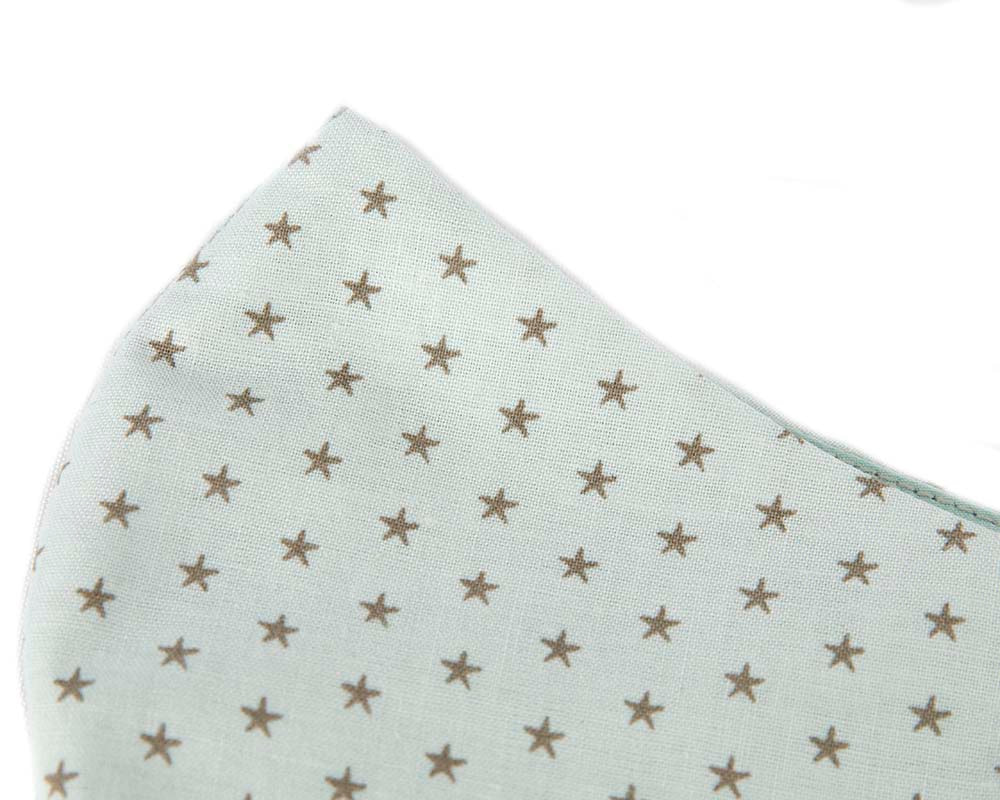 Comfortable re-usable cotton face mask with small stars