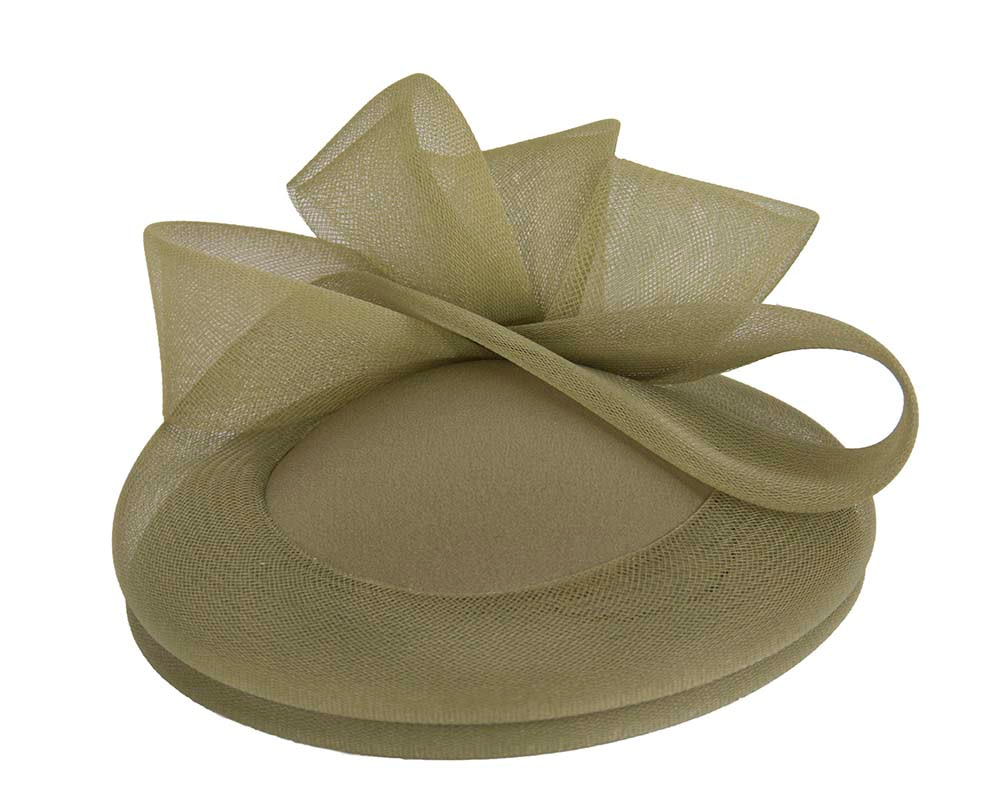 Olive Custom Made Cocktail Hat