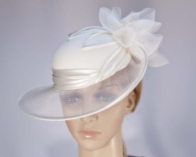 Cream Mother of the Bride Wedding Hat