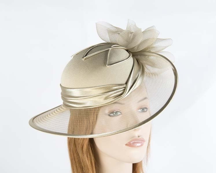 Antique Gold Mother of the Bride Hat