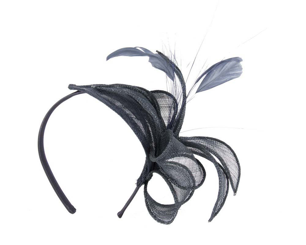 Dazzling black fascinator