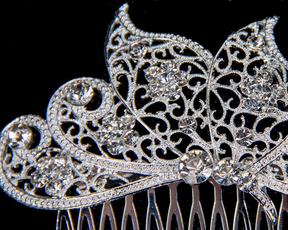 Bridal hair comb headpiece buy online in Australia BR19