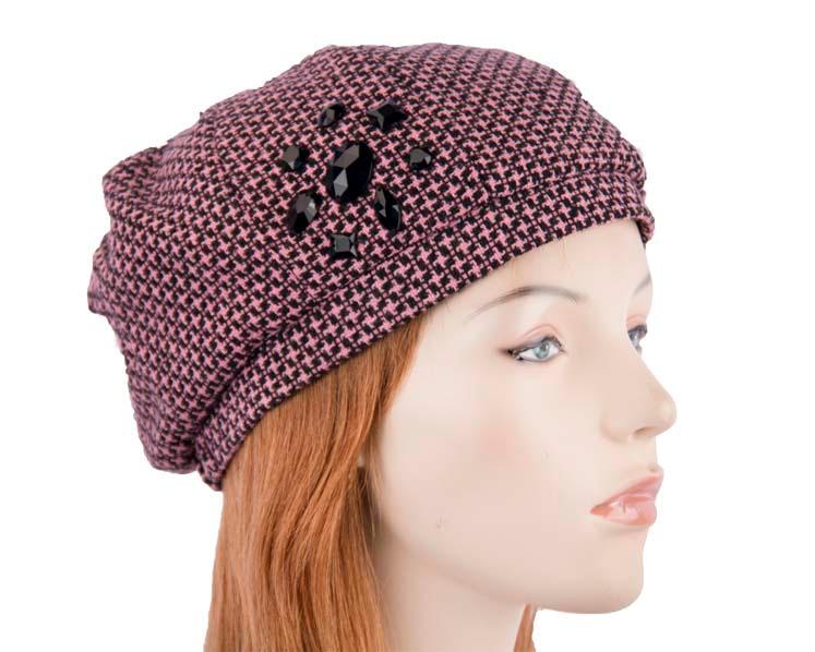 Pink ladies Casual Beret Hat Max Alexander J153P