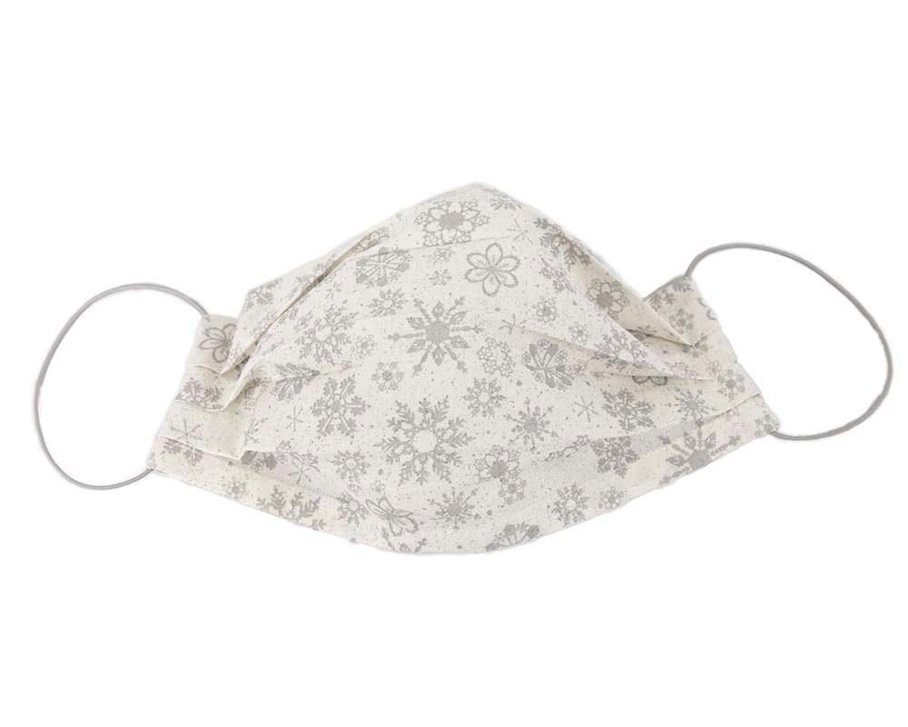Comfortable re-usable Xmas-themed cotton face mask