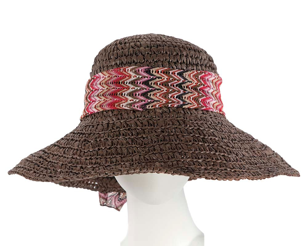 Ladies summer beach hat BD28