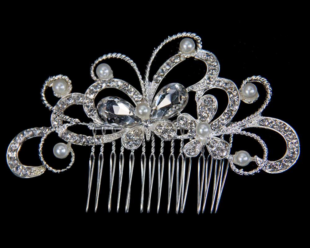 Bridal hair comb headpiece buy online in Australia BR20
