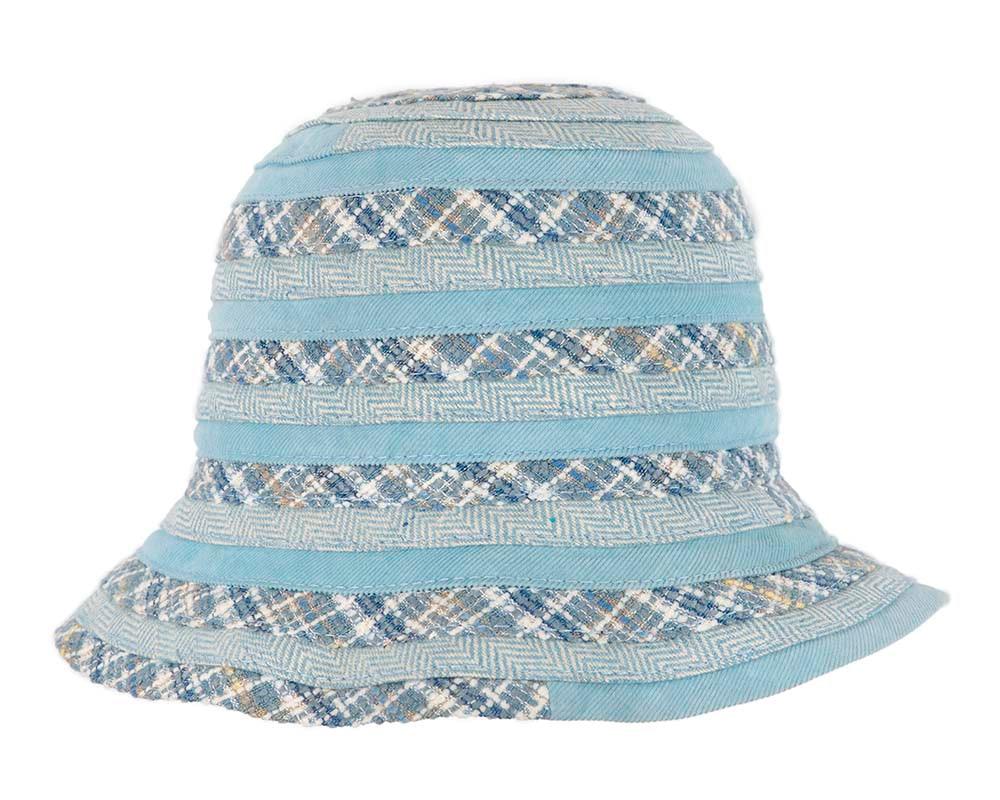 Blue ladies casual bucket hat