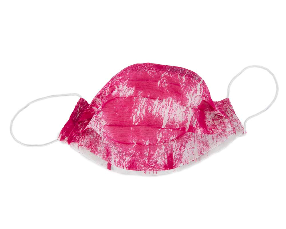 Easy-to-breathe SINGLE layer cotton very thin face mask