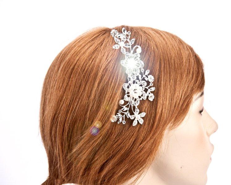 Bridal hair comb headpiece buy online in Australia BR10