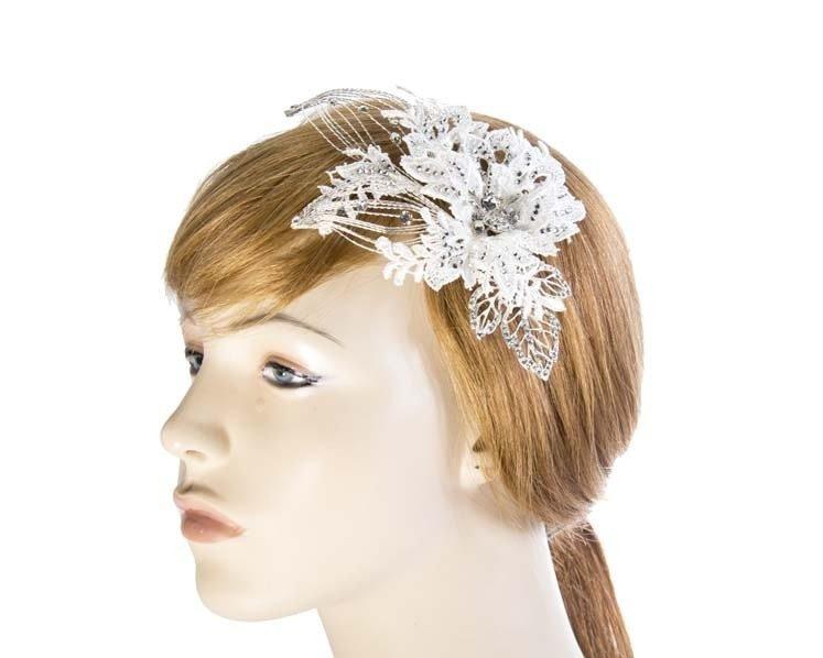 Sparkling bridal headpiece