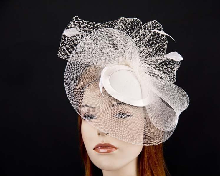 Bridal cocktail hat for wedding K4835BR