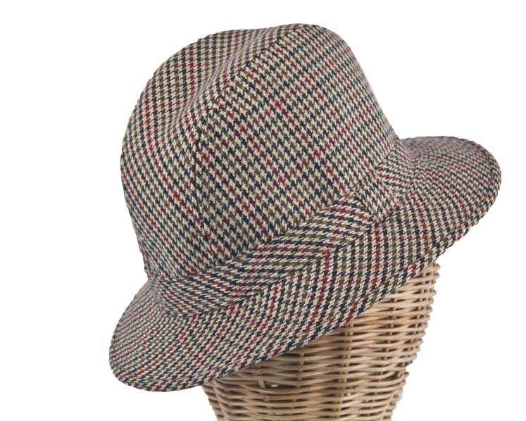 Irish Tweed Walking Hat