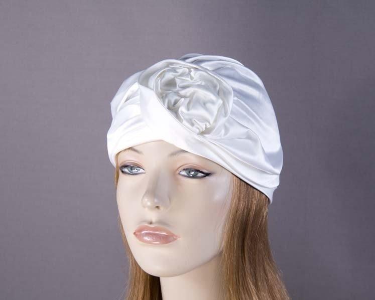 Ivory turban by Max Alexander