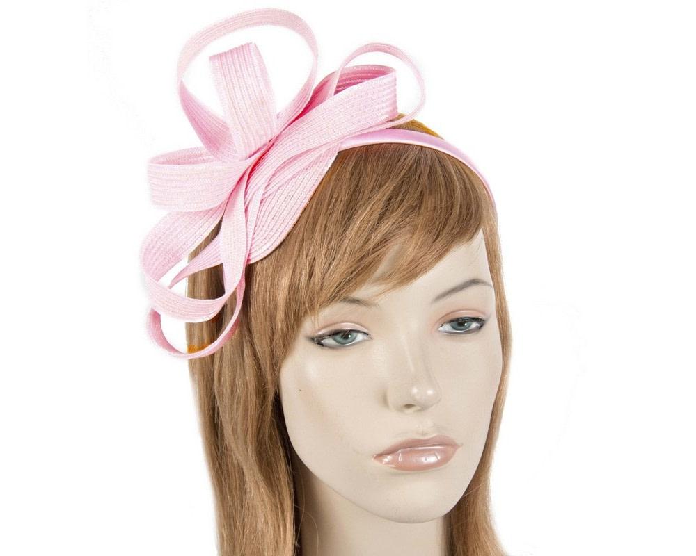Pink loops on the headband