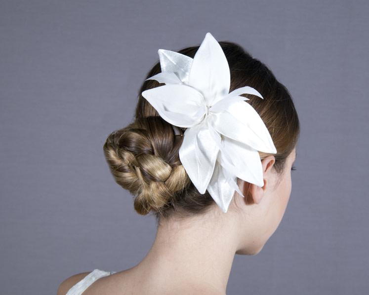 Cream Wedding Fascinator