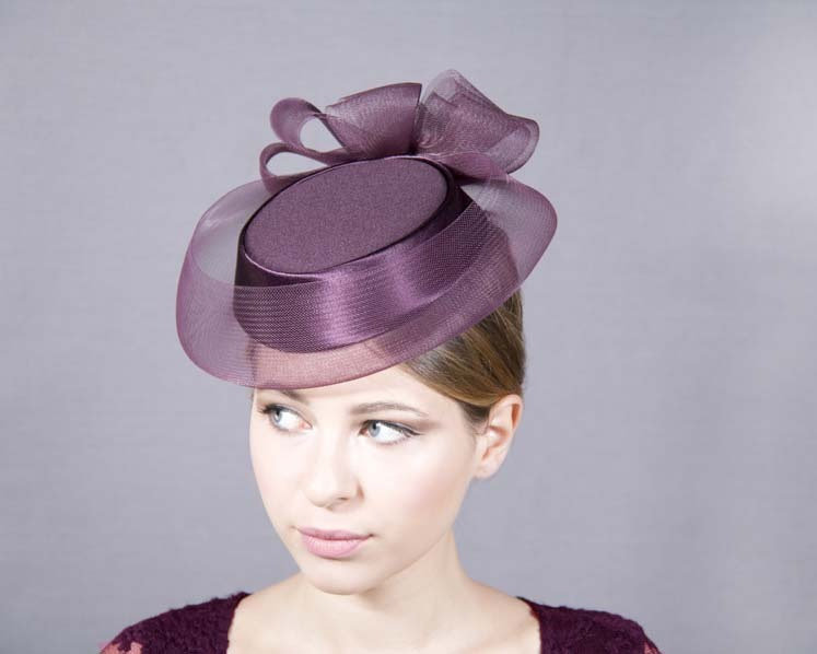 Pillbox Mother of the Bride custom made hat