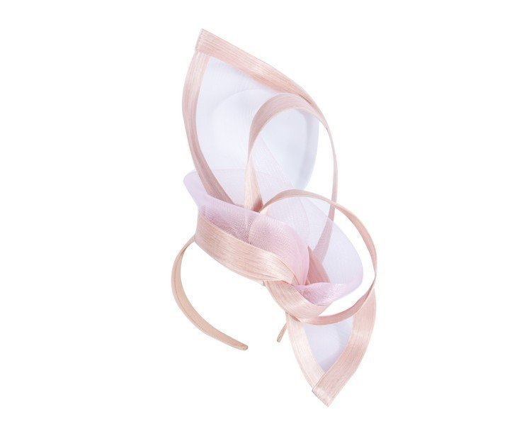 Pink edgy racing fascinator by Fillies Collection