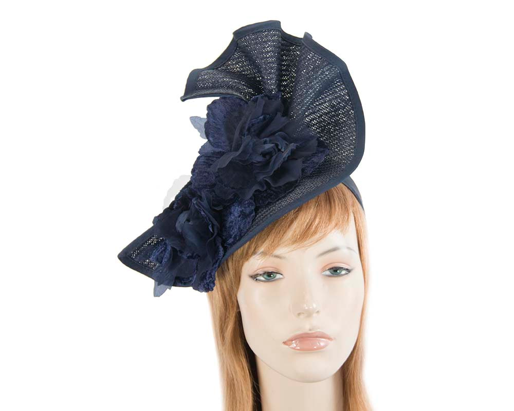 Navy Melbourne Cup races fascinator by Fillies Collection