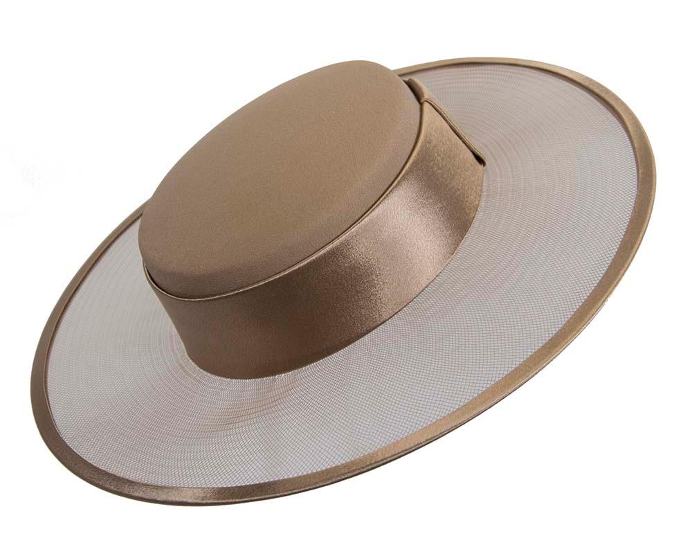 Buff designers boater hat