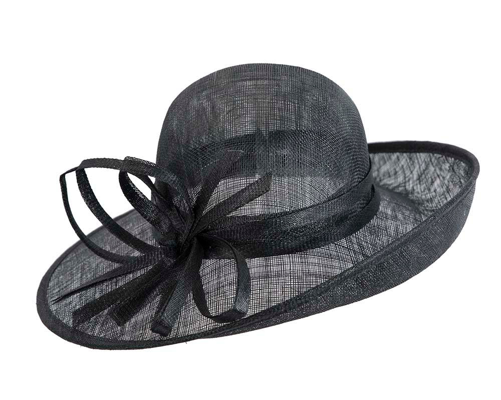 Black fashion racing hat by Max Alexander