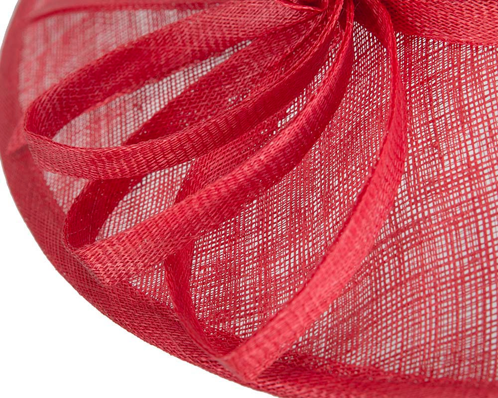 Red fashion racing hat by Max Alexander
