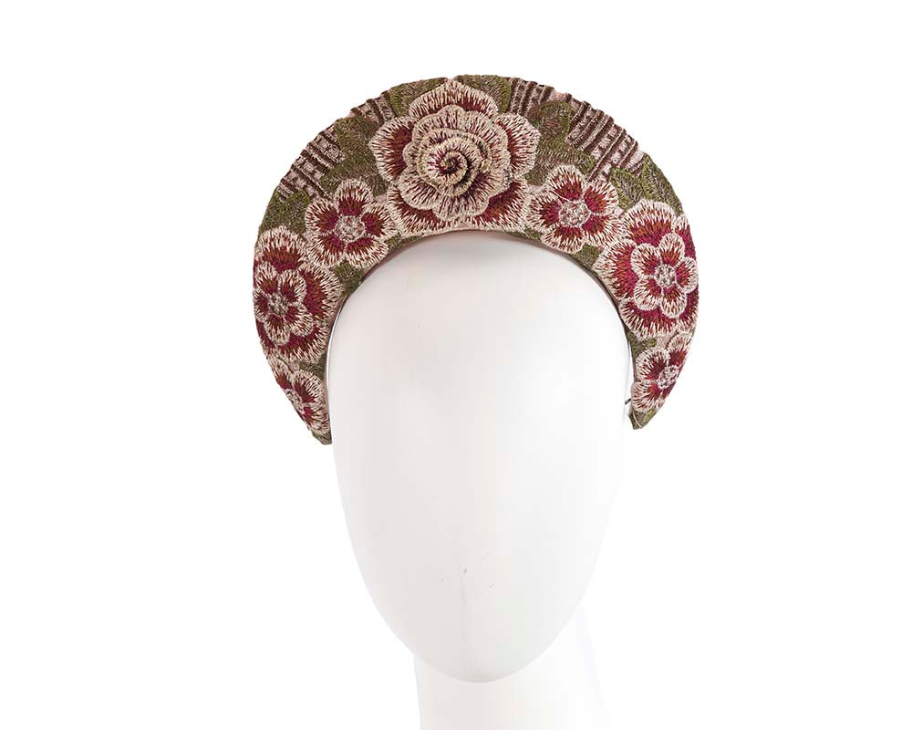 Exclusive nude headband by Cupids Millinery