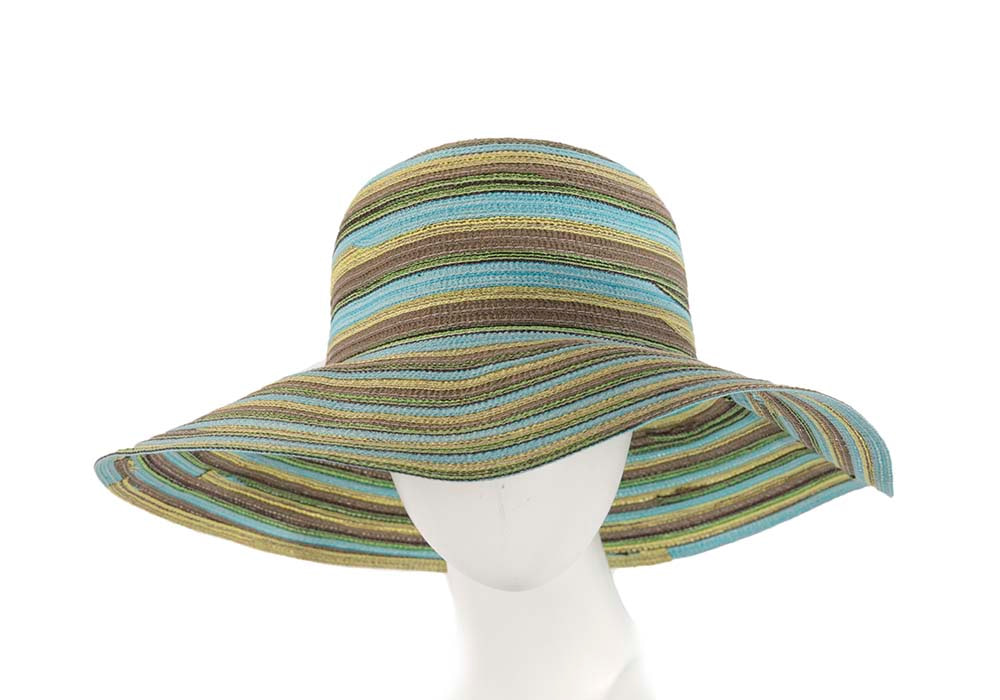 Soft wide brim ladies summer casual beach hat