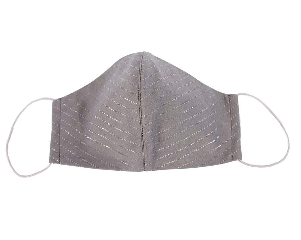 Comfortable re-usable grey face mask