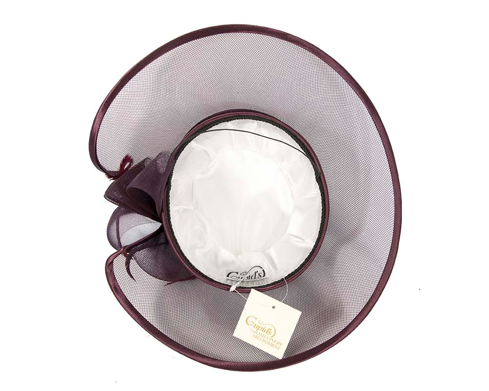 Port  Mother of the Bride Wedding Hat made to order in Australia