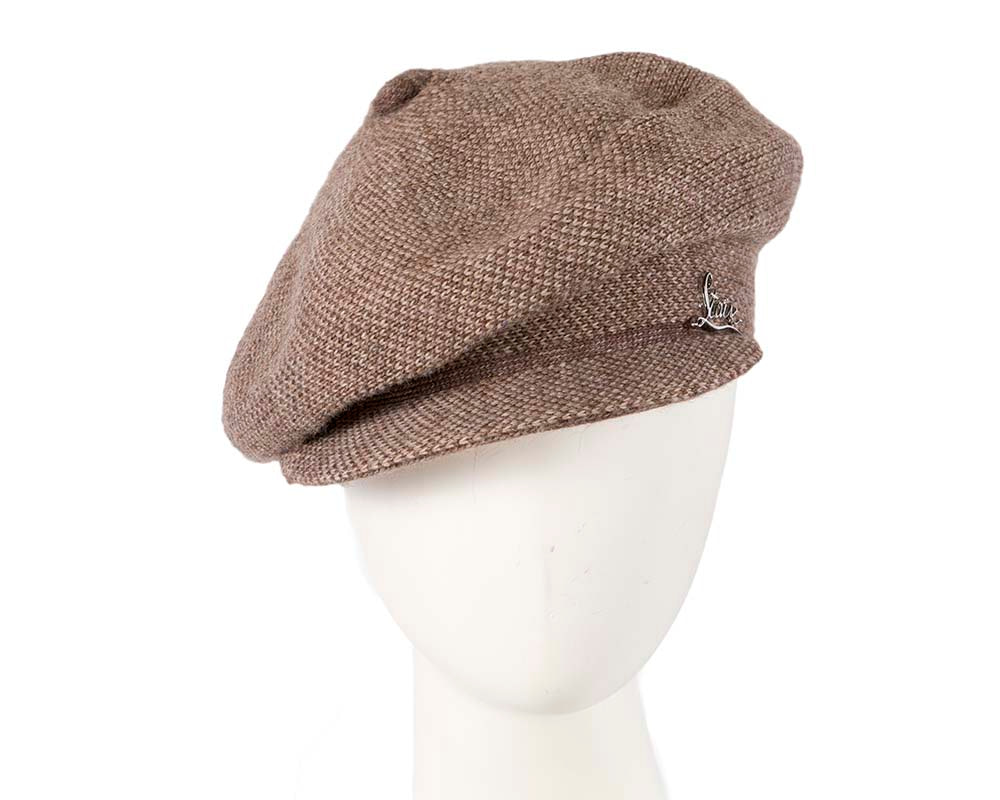 Classic wool woven coffee cap by Max Alexander