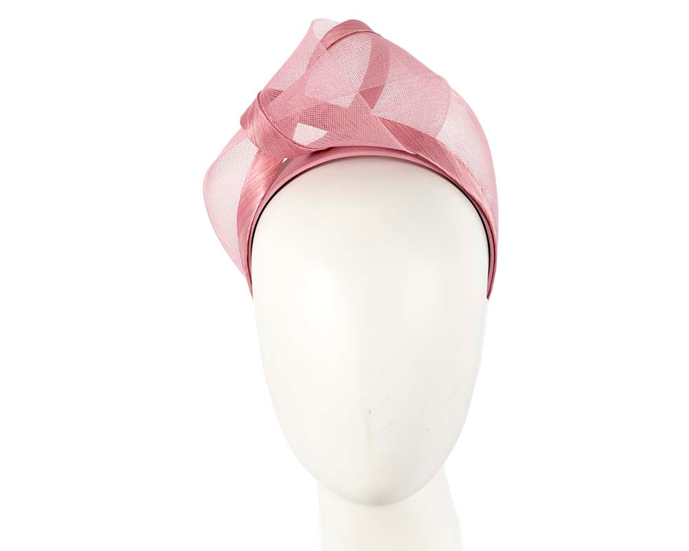 Dusty Pink fashion headband turban by Fillies Collection
