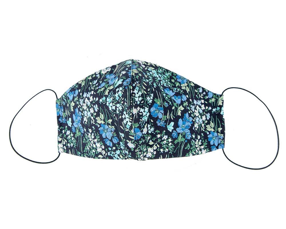 Comfortable re-usable cotton face mask plants
