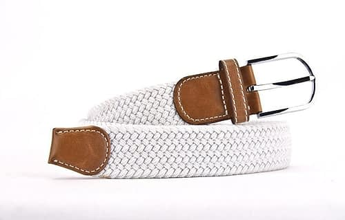 Belts From OZ - stretch white
