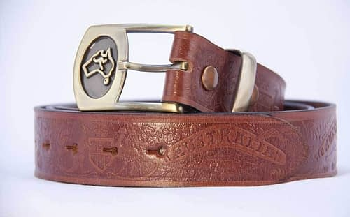 Belts From OZ - 40 aust coa tan