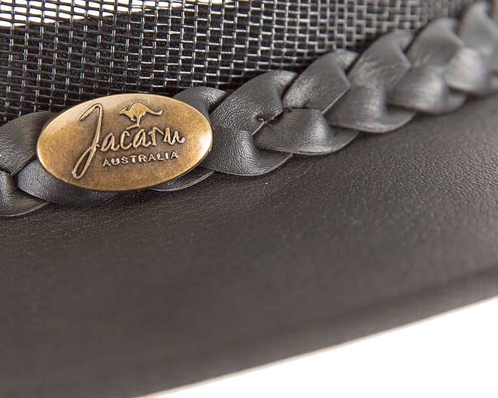 Belts From OZ - J0130 black closeup