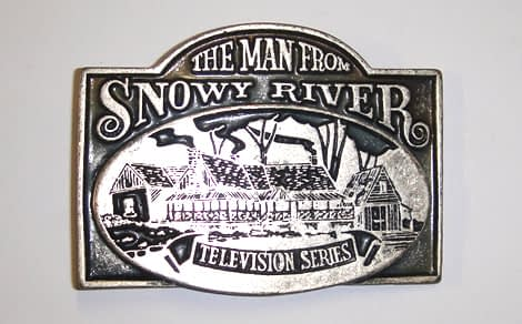 Belts From OZ - man snowy river