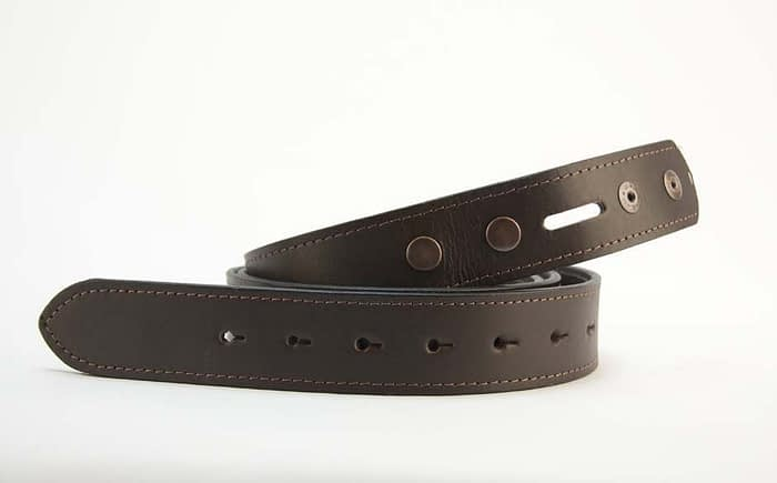 Belts From OZ - plain brown