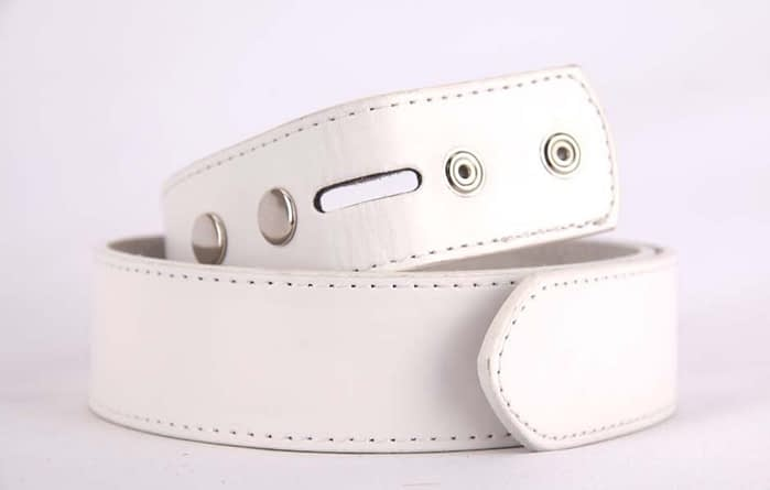 Belts From OZ - plain white