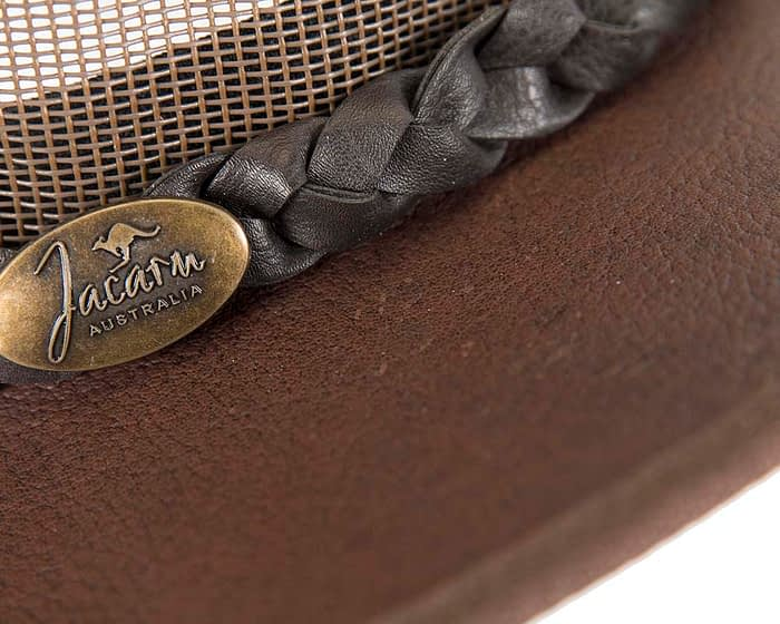 Belts From OZ - J0130 brown closeup