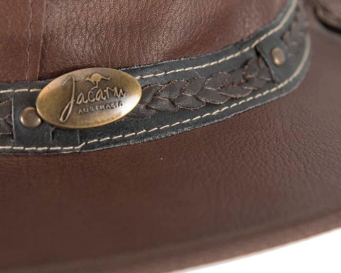 Belts From OZ - 1111 brown closeup