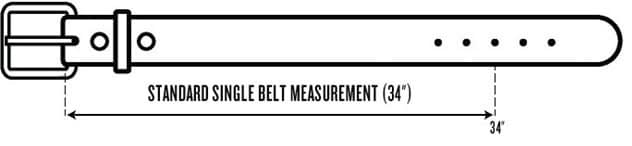 Belt Measuring Guide
